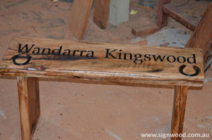 wandarra kingswood wooden bench