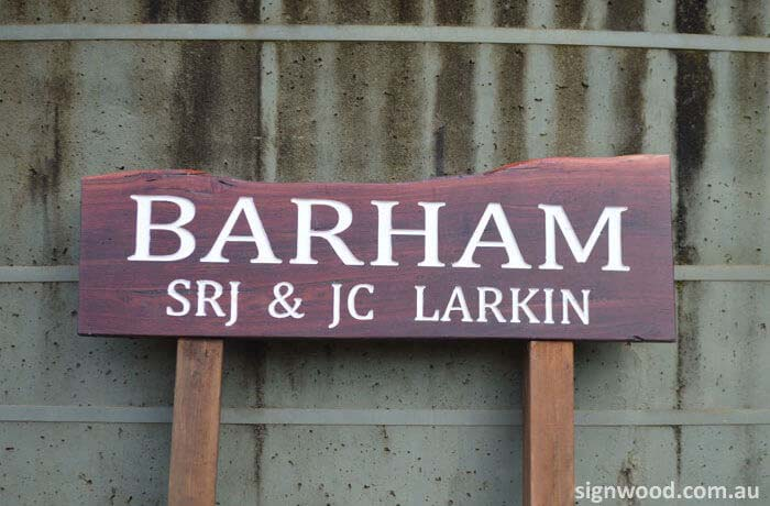 barham wood sign